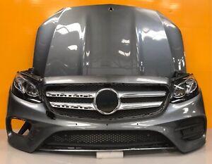 MERCEDES E CLASS coupe w 238 2015-18 Genuine front bumper ,bonnet,HEADLIGHTs