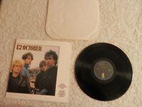 U2 OCTOBER 1983 CLUB EDITION REISSUE VINYL LP ALBUM 90092-1 BONO THE EDGE