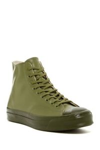 Converse Jack Purcell Signature Rubber High Top 153581C Fatigue Green US 7-8.5