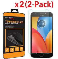 2 Pack Premium Screen Protector Tempered Glass Film For Motorola E4  E4 Plus