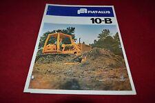 Fiat Allis Chalmers 10-B Crawler Tractor Dozer Dealers Brochure YABE11 vr1