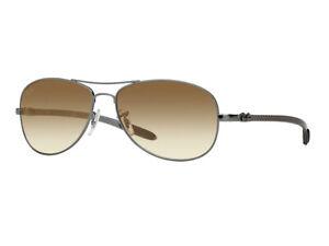 Ray-Ban Sonnenbrille RB8301 004/51 gewehrlauf braun