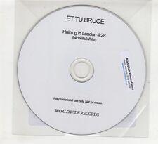 (HD687) Et Tu Bruce, Raining In London - 2015 DJ CD