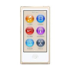 Apple iPod Nano 16Gb Gold 7th Generation Mp3 Player Mkmx2Vc/A