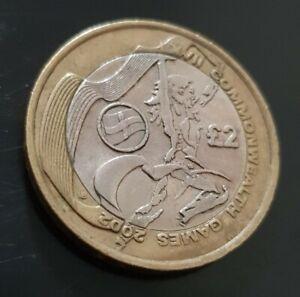2002 commonwealth games 2 pound coin Northern Ireland