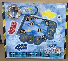 BBC Robot Wars Retro Vintage que las guerras comienzan juego de mesa COMPLETO roboteers