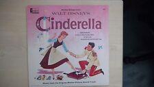 Disneyland Record All The Songs from Walt Disney's CINDERELLA LP 1959