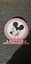Disney Mickey Head Ferris wheel printed scrapbook page die cut