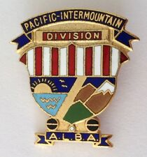 ALBA Pacific Intermaountain Division Lawn Bowling Club Badge Pin Vintage (M20)