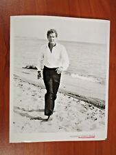 Vtg Glossy Press Photo Actor Roger Moore, James Bond, Octopussy, Golden Gun #6