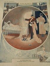 Le Rêve de Ninette Le Bonhomme Noel Nini Pompom Print Art Déco 1910