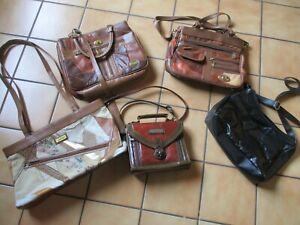 5 Damentaschen  Tasche Umhängetasche  Handtasche