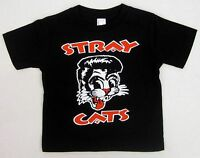 STRAY CATS Baby Infant T-shirt Rockabilly Rock And Roll Tee 6M,12M,18M,24M New