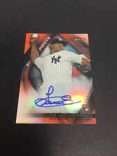2016 Topps Finest Luis Severino Finest Firsts AUTO Autograph RC #'d 23/25