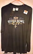 2010 New Orleans Saints SUPER BOWL Champions ORANGE XLIV (XL) Long Sleeve SHIRT!