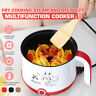 Non-stick Electric Hot Pot Slow Cooker Boiler Steamer Cooker Multi-Function 600W