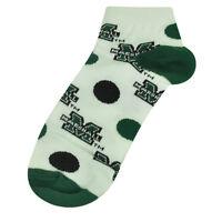 NCAA Marshall Thundering Herd Womens Medium 6 - 11 Ankle Polka Dots White Socks