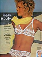 PUBLICITÉ DE PRESSE 1975 VOLUBILIS DE BOLÉRO SOUTIEN-GORGE