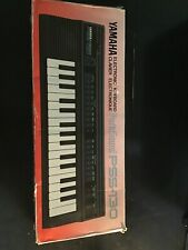 vtg Yamaha PortaSound PSS-130 Electric Keyboard W/ Original Box