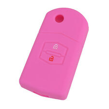 2BTN FIT FOR MAZDA 2 3 5 6 M3 M6 SILICONE KEY REMOTE HOLDER CASE COVER FOB SHELL