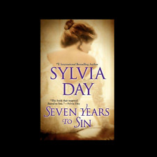 Seven 7 Years to Sin by Sylvia Day a paperback book FREE SHIPPING