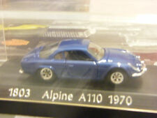 RENAULT ALPINE A110 1970 SOLIDO 1:43 NEW NUOVA COD 1803