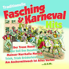 CD Traditionelle Fasching & Karneval Hits