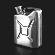 5oz Pocket Jerry Can Hip Flask Stainless Steel Liquor Whisky Wine Bottle & Cap