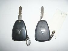 2 OEM Chrysler Dodge Jeep Remote Head Key Keyless Entry Fob 3B OHT692427AA