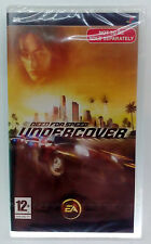 SONY PSP NEED FOR SPEED UNDERCOVER EUROPEAN NEW SEALED (We do combine shipping)