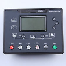 6120U diesel generating set controller. terminal box LCD controller