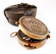 Sporting Compass Nautical Brass Hiking/Camping Compasses Manual GPS Gift Men/Boy