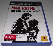 Max Payne 2 Fall of Max Payne PS2 PAL *Complete*