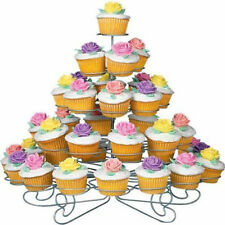 41 Cupcake Cake Dessert Multi Cup 5 Tier Metal Round Holder Stand Tower Folding
