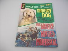 WALT DISNEY'S SHAGGY DOG PLUS THE ABSENT MINDED PROFESSOR 58/61 COMIC BOOK