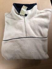 MOUNTAIN RIDGE CLIMATE EQUIPMENT CAMEL FLEECE Pullover Sweatshirt Sz XL - NWT