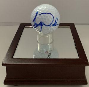 Tiger Woods signed golf ball (COA)