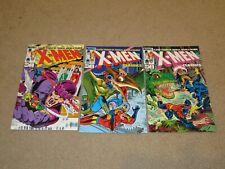 X-Men #1-3 Lot Comic Books NM 9.4 Marvel 1983