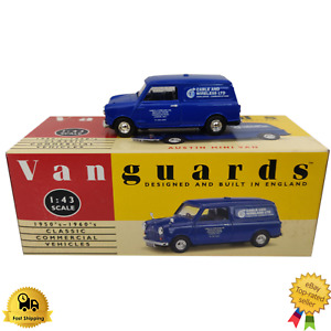 Diecast Model Car 1:43 Austin Mini Van Vanguards Classic Commercial Vehicle