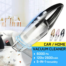 US 120W High Power Cordless Wet & Dry Portable Car Home Vacuum Cleaner 6000PA
