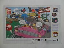 2003 Print Ad THE SIMPSONS Road Rage! Video Game ~ PS2 Xbox Gamecube
