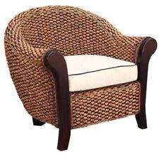 Water Hyacinth Soldano Club Chair made by Chic Teak