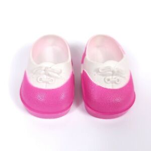 Vintage Fisher Price My Friend Doll Clothes Replacement Tennis Shoes Pink White