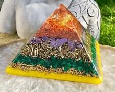Orgonite® Orgone Pyramid (5.25 x 4.5 inches) - Personal Transformation