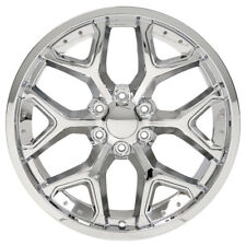 "22"" RAM 1500 2019 NEW SET OF 4 FACTORY SPEC CHROME WHEELS RIMS 5668 DEEP DISH 4"