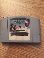 Star Fox Nintendo 64 N64 Game Cart Works NG1