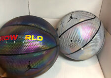 Nike Air Promo Astroworld Basketball Sample Iridescent Black & White Multicolor