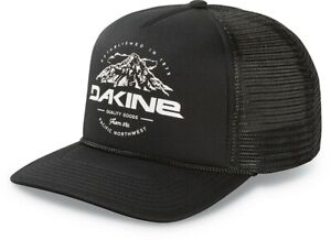 Dakine Mt Hood Snapback Trucker Hat Black New 2019