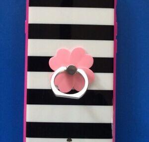 UK SELLER 🇬🇧 Phone Ring Holder For iPhone Tablets iPad-Pink Flower