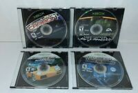 Lot Of 4 Need For Speed Microsoft Xbox Games Discs Only Underground Carbon More